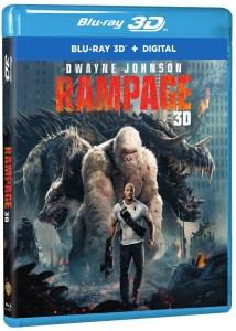 'Rampage'; Arrives On Digital June 26 & On 4K Ultra HD, 3D Blu-ray, Blu-ray & DVD July 17, 2018 From Warner Bros 1