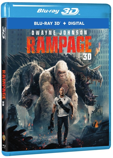 'Rampage'; Arrives On Digital June 26 & On 4K Ultra HD, 3D Blu-ray, Blu-ray & DVD July 17, 2018 From Warner Bros 5