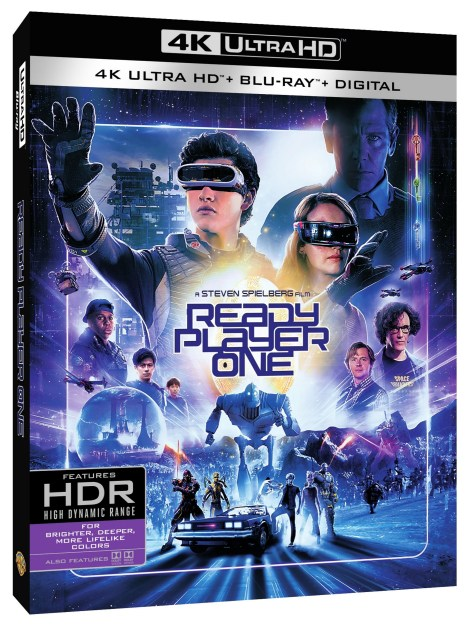 'Ready Player One'; Arrives On Digital July 3 & On 4K Ultra HD, 3D Blu-ray, Blu-ray & DVD July 24, 2018 From Warner Bros 5