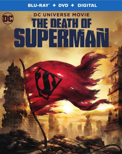 Trailer, Artwork & Release Info For DCU's 'The Death Of Superman'; Arrives On Digital July 24 & On 4K Ultra HD, Blu-ray & DVD August 7, 2018 From DC & Warner Bros 7