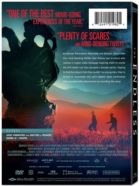 Justin Benson & Aaron Moorhead's 'The Endless'; Arrives On Blu-ray, DVD & Digital June 26, 2018 From Well Go USA 6