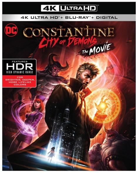 Trailer, Artwork & Release Details For 'Constantine: City Of Demons'; Arrives On 4K Ultra HD, Blu-ray & Digital October 9, 2018 From DC Entertainment & Warner Bros 12