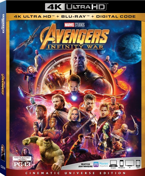 Marvel's 'Avengers: Infinity War'; Arrives On Digital July 31 & On 4K Ultra HD, Blu-ray & DVD August 14, 2018 From Marvel Studios 2