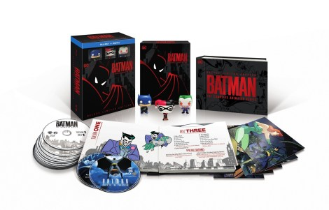 Watch The Remastered Opening Sequence, Plus New Release Date, Artwork & Details For 'Batman The Complete Animated Series' Limited Edition Blu-ray Box Set; Now Arriving October 30, 2018 From DC & Warner Bros 1