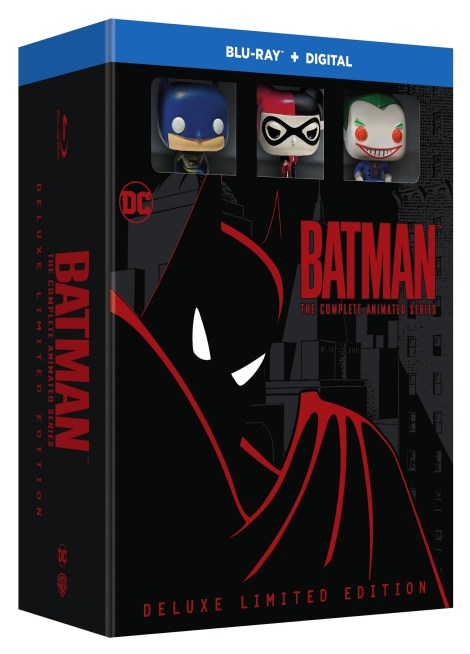 Watch The Remastered Opening Sequence, Plus New Release Date, Artwork & Details For 'Batman The Complete Animated Series' Limited Edition Blu-ray Box Set; Now Arriving October 30, 2018 From DC & Warner Bros 3