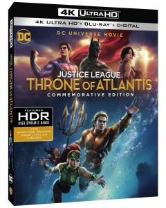 'Justice League: Throne Of Atlantis' Commemorative Edition; Arrives On 4K Ultra HD, Blu-ray & Digital November 13, 2018 From DC & Warner Bros 1