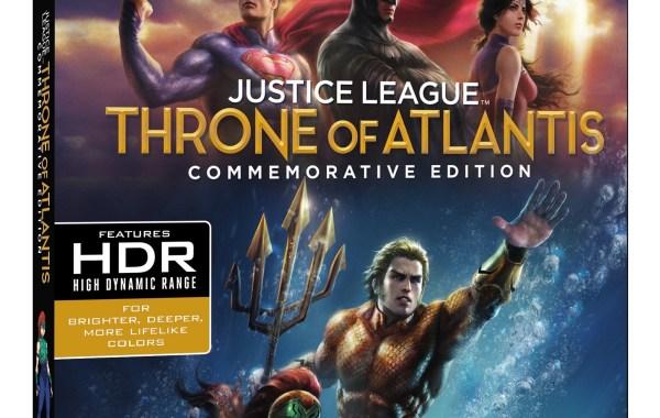'Justice League: Throne Of Atlantis' Commemorative Edition; Arrives On 4K Ultra HD, Blu-ray & Digital November 13, 2018 From DC & Warner Bros 10