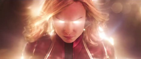 The First Trailer & Poster For Marvel Studios' 'Captain Marvel' Crash Lands In Our World 1