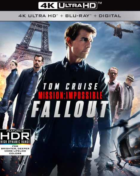 'Mission: Impossible - Fallout'; Arrives On Digital November 20 & On 4K Ultra HD, Blu-ray & DVD December 4, 2018 From Paramount 4