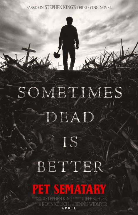 The First Trailer & Poster For The Latest Film Adaption of Stephen King's 'Pet Sematary' Are Here 2