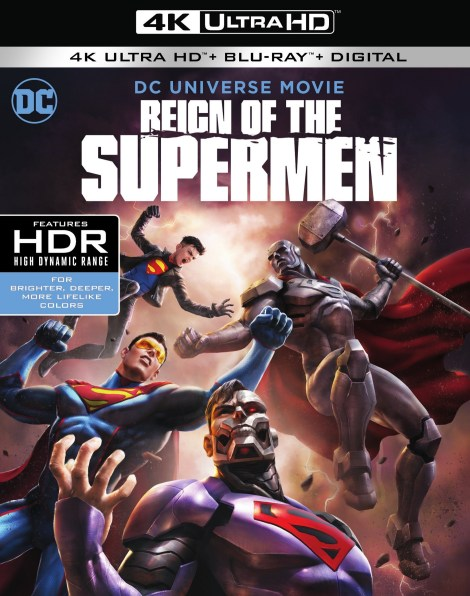 Trailer, Artwork & Release Details For 'Reign Of The Supermen'; Arrives On Digital January 15 & On 4K Ultra HD, Blu-ray & DVD January 29, 2019 From DC & Warner Bros 2