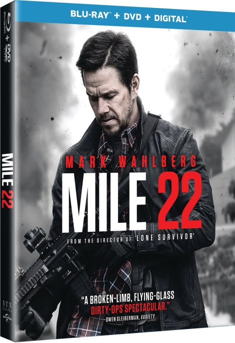 [GIVEAWAY] Win 'Mile 22' On Blu-ray Combo Pack: Available On Blu-ray & DVD November 13, 2018 From Universal 2