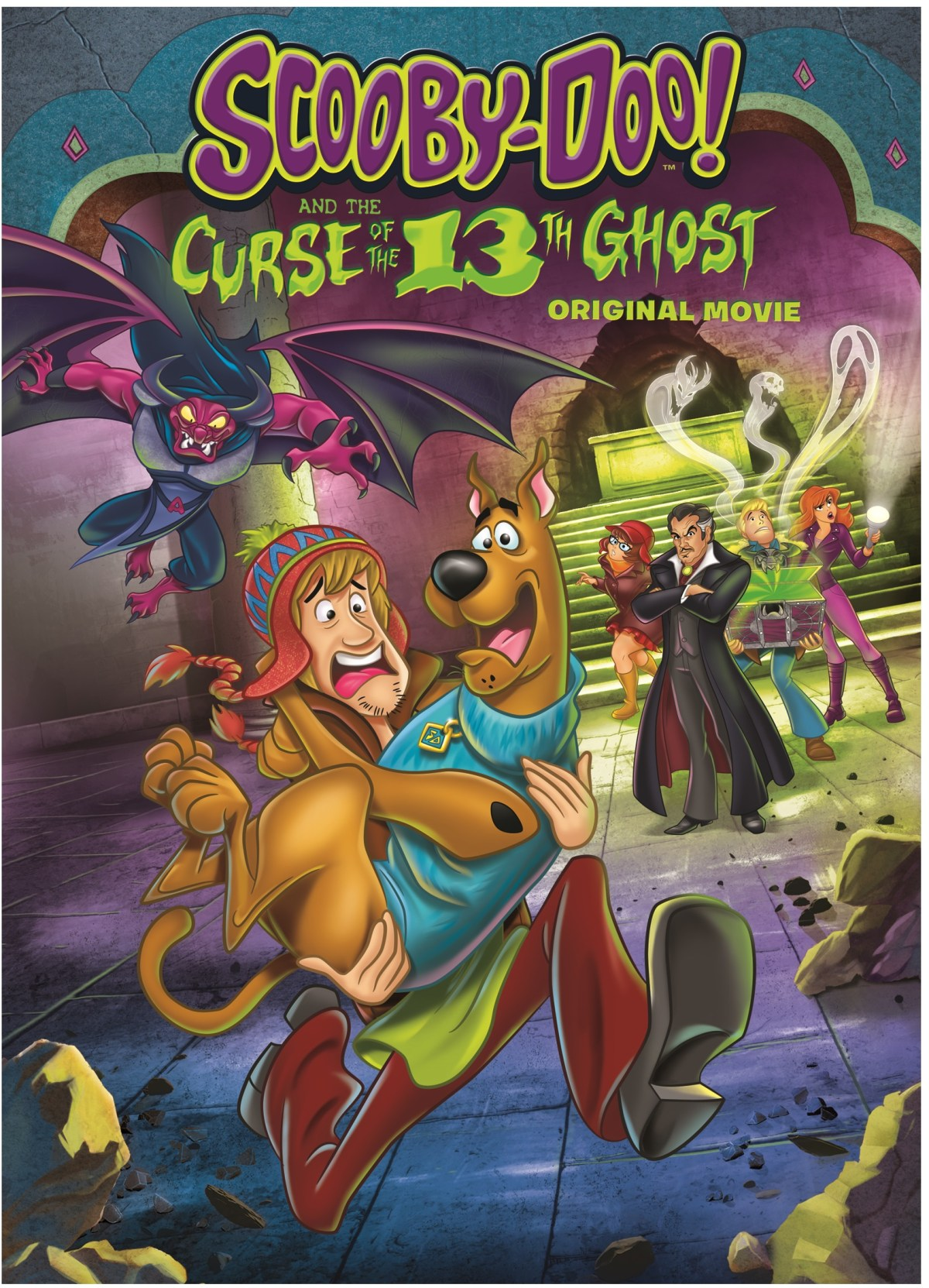Trailer, Artwork & Release Details For 'Scooby-Doo! And The Curse Of The 13th Ghost'; Arrives On DVD & Digital February 5, 2019 From Warner Bros 10
