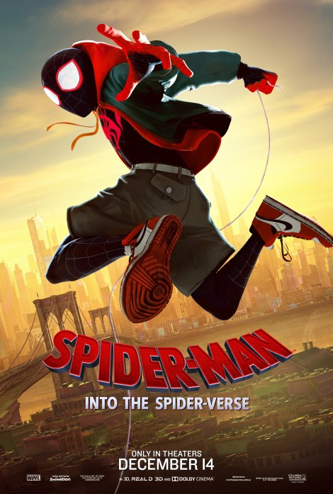 Check Out 6 New Character Posters From Sony's 'Spider-Man: Into The Spider-Verse' Animated Movie 2