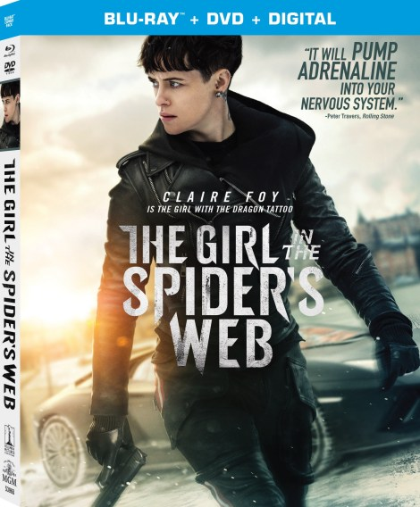 'The Girl In The Spider's Web'; Arrives On Digital January 22 & On Blu-ray & DVD February 5, 2019 From Sony Pictures 2