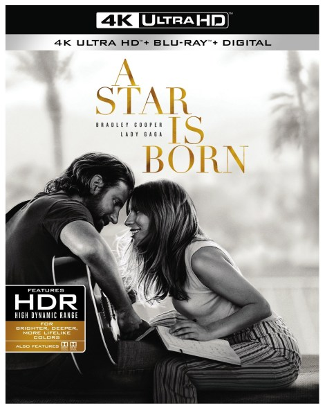 'A Star Is Born'; The Acclaimed Film Starring Bradley Cooper & Lady Gaga Arrives On Digital January 15 & On 4K Ultra HD, Blu-ray & DVD February 19, 2019 From Warner Bros 3