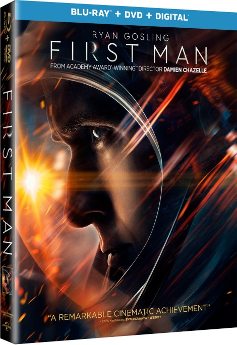 [GIVEAWAY] Win 'First Man' On Blu-ray Combo Pack: Available On 4K Ultra HD, Blu-ray & DVD January 22, 2019 From Universal 2