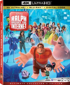 Disney's 'Ralph Breaks The Internet'; The Sequel To 'Wreck It Ralph' Arrives On Digital February 12 & On 4K Ultra HD, Blu-ray & DVD February 26, 2019 From Disney 1
