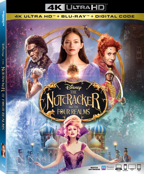 Disney's 'The Nutcracker And The Four Realms'; Arrives On 4K Ultra HD, Blu-ray, DVD & Digital January 29, 2019 From Disney 3