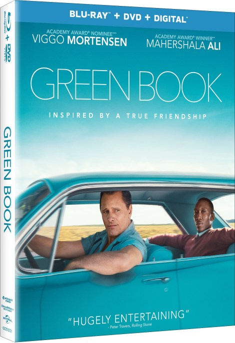 'Green Book'; The Acclaimed Film Arrives On Digital February 19 & On 4K Ultra HD, Blu-ray & DVD March 12, 2019 From Universal 8