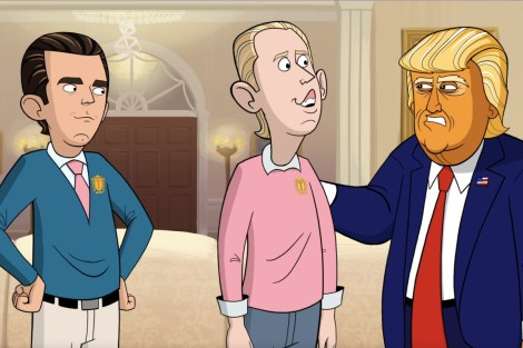 Showtime Renews 'Our Cartoon President' For Season 2 1