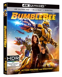 'Bumblebee'; Arrives On Digital March 19 & On 4K Ultra HD, Blu-ray & DVD April 2, 2019 From Paramount 1
