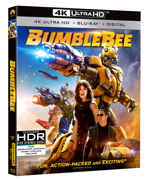 'Bumblebee'; Arrives On Digital March 19 & On 4K Ultra HD, Blu-ray & DVD April 2, 2019 From Paramount 2