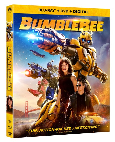 'Bumblebee'; Arrives On Digital March 19 & On 4K Ultra HD, Blu-ray & DVD April 2, 2019 From Paramount 5