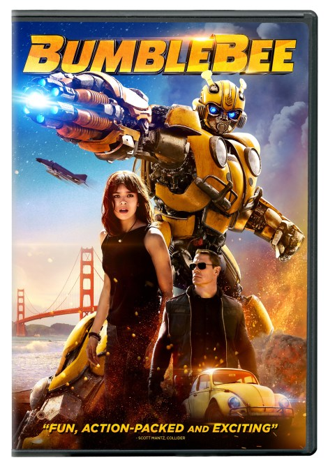'Bumblebee'; Arrives On Digital March 19 & On 4K Ultra HD, Blu-ray & DVD April 2, 2019 From Paramount 7