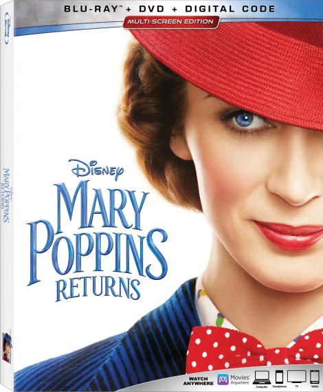 Disney's 'Mary Poppins Returns'; Arrives On Digital March 12 & On 4K Ultra HD, Blu-ray & DVD March 19, 2019 From Disney 6