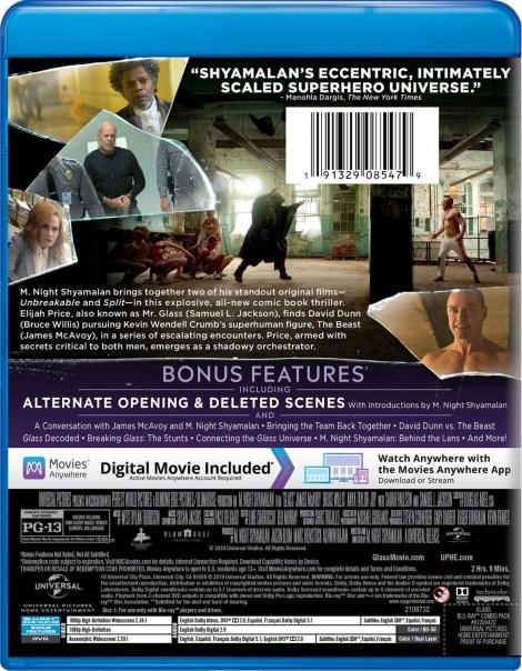 M. Night Shyamalan's 'Glass'; Arrives On Digital April 2 & On 4K Ultra HD, Blu-ray & DVD April 16, 2019 From Universal 20