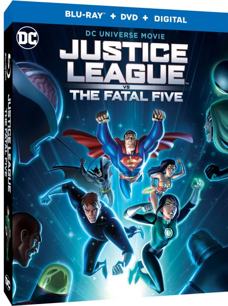 Trailer, Artwork & Release Details For 'Justice League Vs. The Fatal Five'; Arrives On Digital March 30 & On 4K Ultra HD, Blu-ray & DVD April 16, 2019 From DC & Warner Bros 3