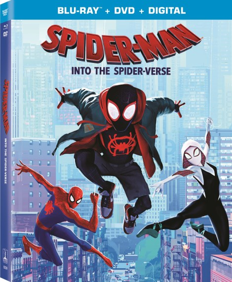 'Spider-Man: Into The Spider-Verse'; Arrives On Digital February 26 & On 4K Ultra HD, Blu-ray & DVD March 19, 2019 From Sony Pictures 6