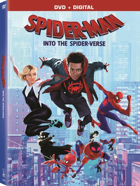 'Spider-Man: Into The Spider-Verse'; Arrives On Digital February 26 & On 4K Ultra HD, Blu-ray & DVD March 19, 2019 From Sony Pictures 7