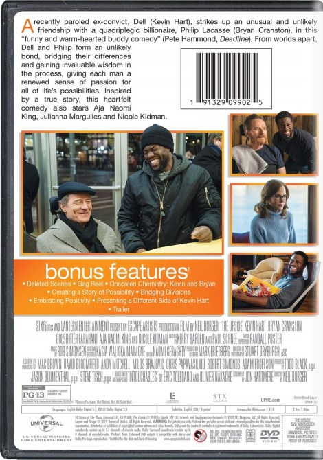 'The Upside'; Arrives On Digital May 14 & On Blu-ray & DVD May 21, 2019 From Universal 8