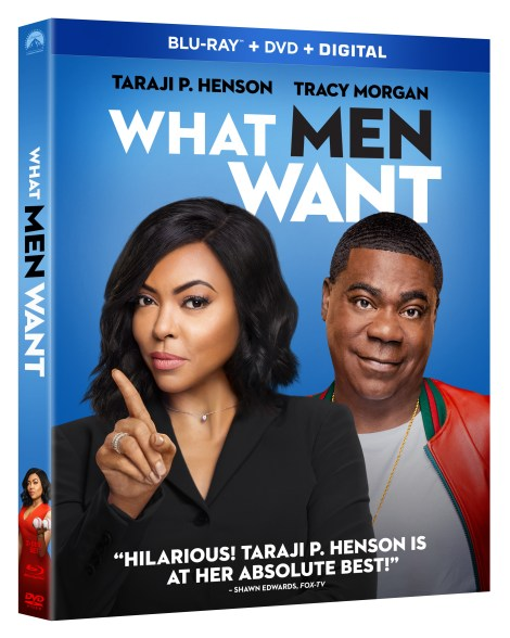 'What Men Want'; The Comedy Starring Taraji P. Henson Arrives On Digital April 23 & On Bu-ray & DVD May 7, 2019 From Paramount 2