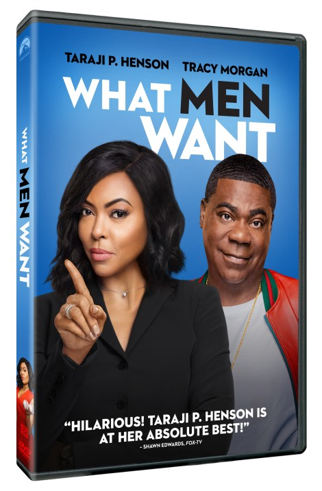 'What Men Want'; The Comedy Starring Taraji P. Henson Arrives On Digital April 23 & On Bu-ray & DVD May 7, 2019 From Paramount 4