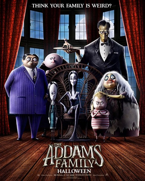 Family Gets Weird In The First Trailer & Poster For 'The Addams Family' Animated Film 2
