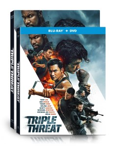 'Triple Threat'; The Action-Packed Film Arrives On Blu-ray & DVD May 14, 2019 From Well Go USA 1