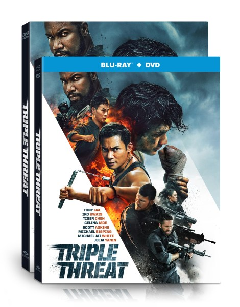 'Triple Threat'; The Action-Packed Film Arrives On Blu-ray & DVD May 14, 2019 From Well Go USA 5