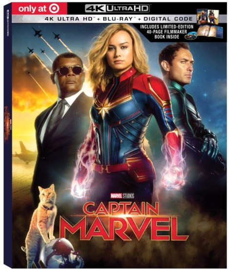 'Captain Marvel'; Arrives On Digital May 28 & On 4K Ultra HD, Blu-ray & DVD June 11, 2019 From Marvel Studios 6