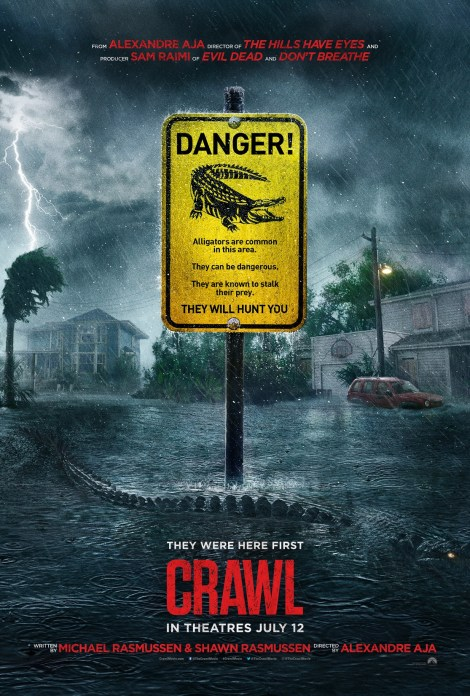 The First Trailer & Poster For Alexandre Aja's 'Crawl' Attack 2