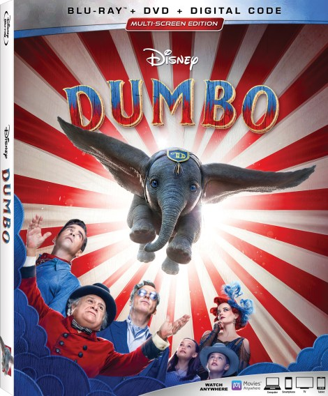 Disney's 'Dumbo'; Tim Burton's Live-Action Adaption Arrives On 4K Ultra HD, Blu-ray, DVD & Digital June 25, 2019 From Disney 3