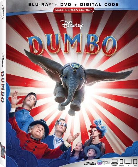 Disney's 'Dumbo'; Tim Burton's Live-Action Adaption Arrives On 4K Ultra HD, Blu-ray, DVD & Digital June 25, 2019 From Disney 3