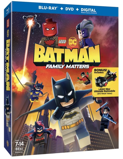 Trailer, Artwork & Release Details For 'LEGO DC: Batman - Family Matters'; Arriving On Blu-ray, DVD & Digital August 6, 2019 From LEGO, DC & Warner Bros 2