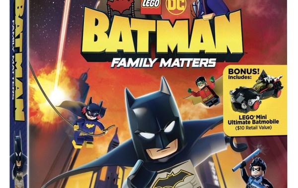 Trailer, Artwork & Release Details For 'LEGO DC: Batman - Family Matters'; Arriving On Blu-ray, DVD & Digital August 6, 2019 From LEGO, DC & Warner Bros 25