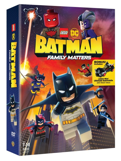 Trailer, Artwork & Release Details For 'LEGO DC: Batman - Family Matters'; Arriving On Blu-ray, DVD & Digital August 6, 2019 From LEGO, DC & Warner Bros 4