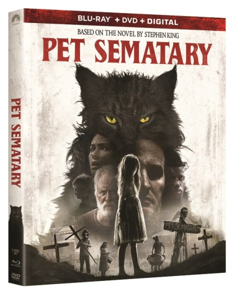 'Pet Sematary'; The New Adaption of Stephen King's Novel Arrives On Digital June 25 & On 4K Ultra HD, Blu-ray & DVD July 9, 2019 From Paramount 5