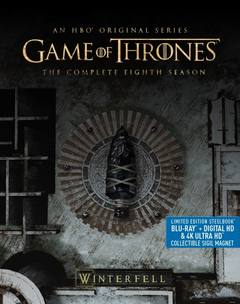 'Game Of Thrones: The Complete Collection' & 'Game Of Thrones: Season 8'; Arriving On Blu-ray & DVD December 3, 2019 From HBO 6