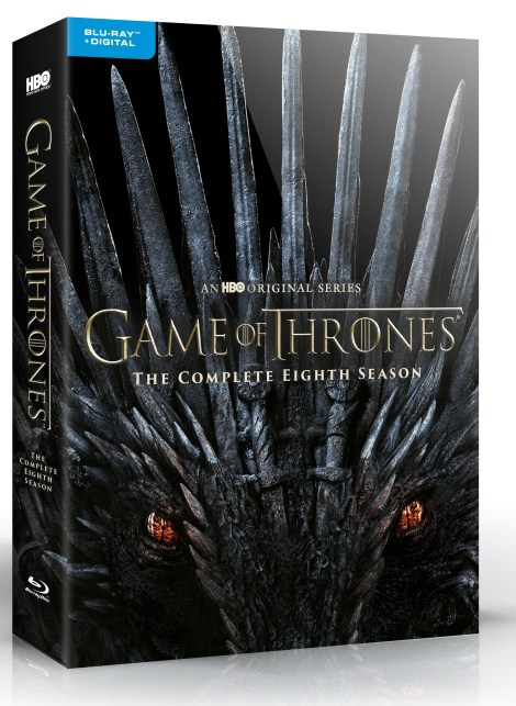 'Game Of Thrones: The Complete Collection' & 'Game Of Thrones: Season 8'; Arriving On Blu-ray & DVD December 3, 2019 From HBO 7